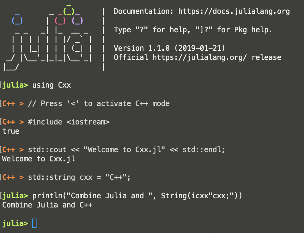 REPL Screenshot