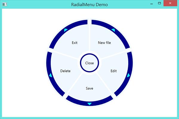 GitHub - Julien-Marcou/RadialMenu: A WPF RadialMenu