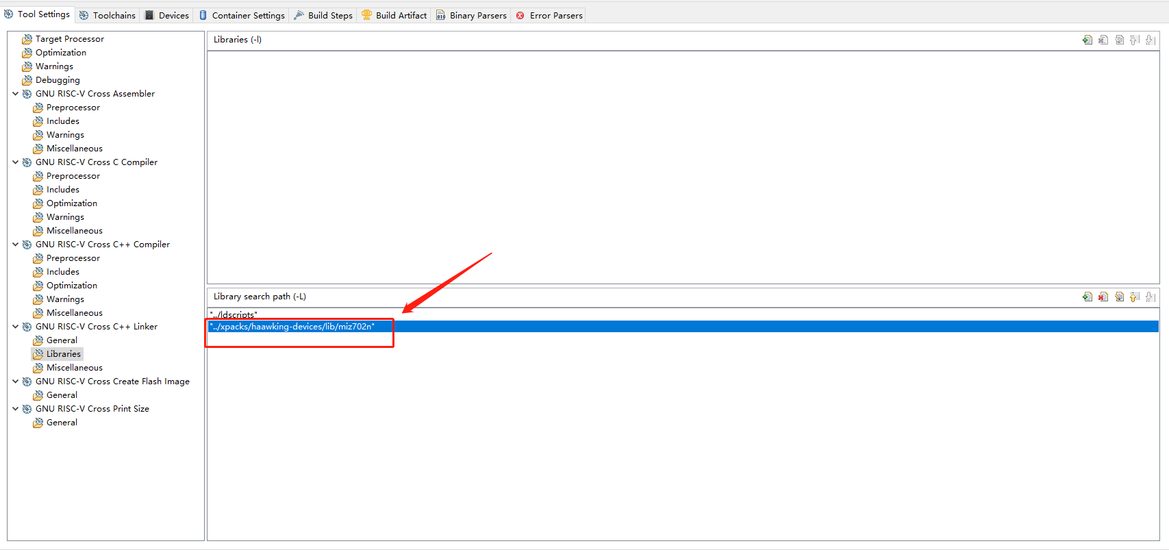 Adding Custom Command Line