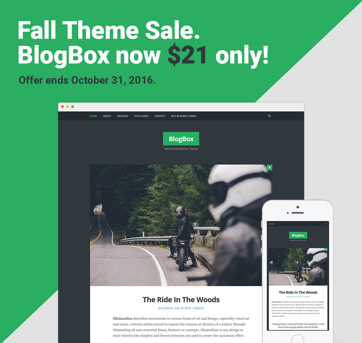 BlogBox - Responsive & Bold WordPress Theme - Personal Blog / Magazine