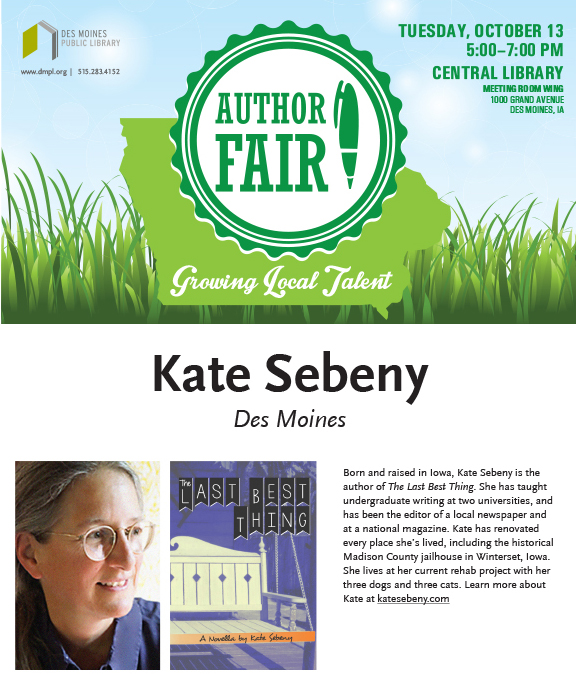 Iowa Author Fair