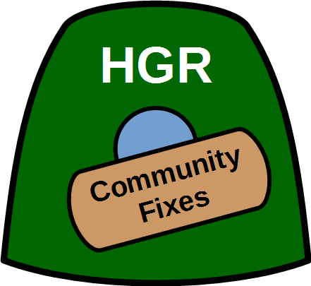 HGR Community Fixes logo