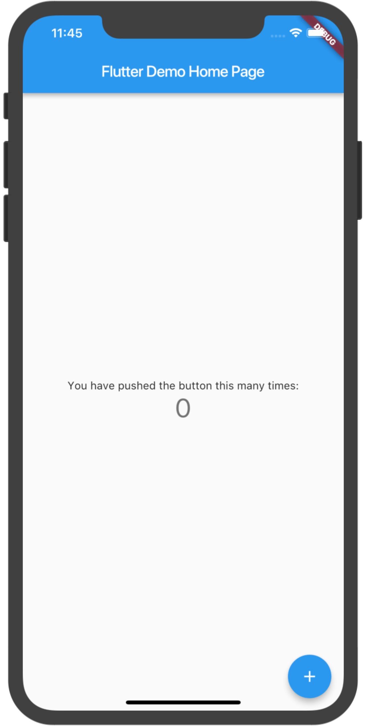 图7 iOS模拟器运行效果图