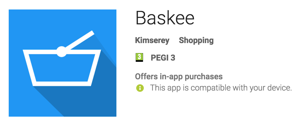 baskee store preview