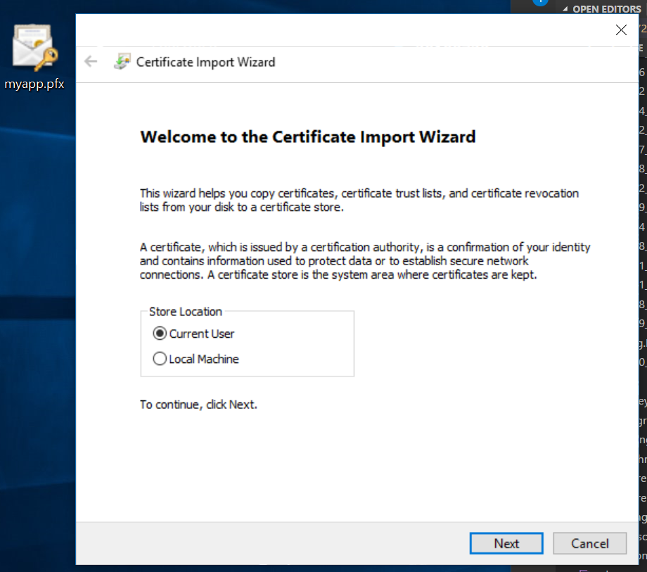 Self Signed Certificate For Identity Server 4 And Ssl In Ubuntu