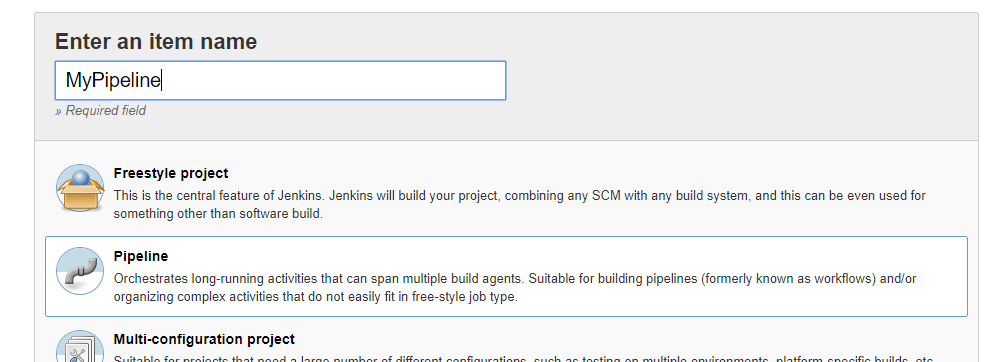 Setup a Jenkins Pipeline for local development environment in Docker