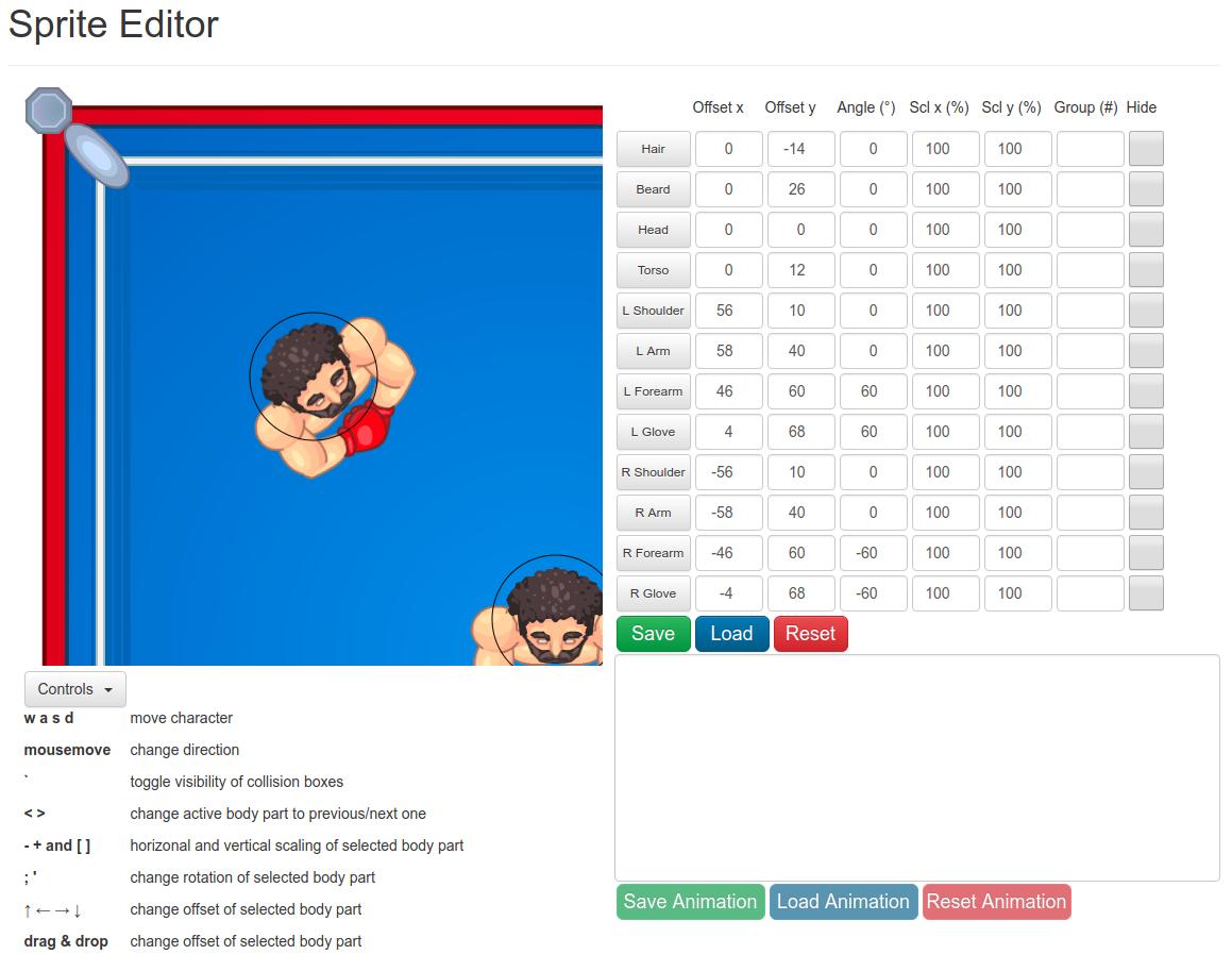 GitHub - Kisioj/Sprite-Editor: Sprite and animation editor for