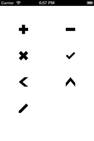 UIBezierPath-Symbol