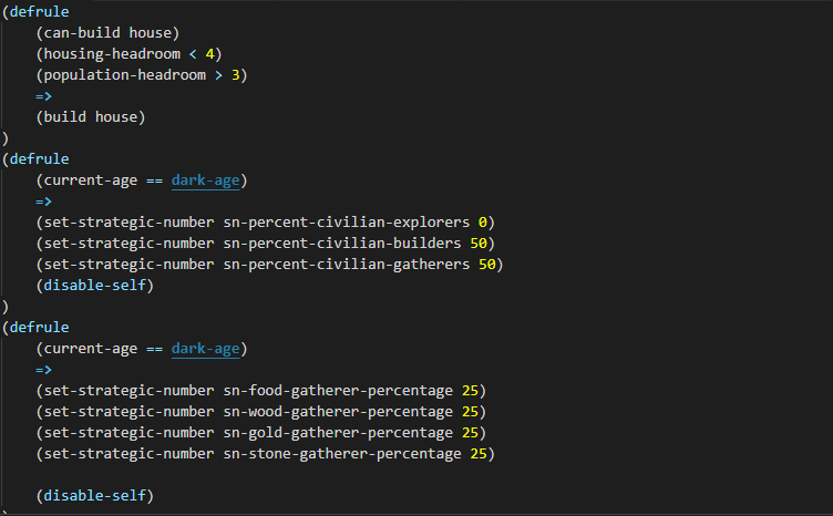 Syntax Highlighting With Dark Age