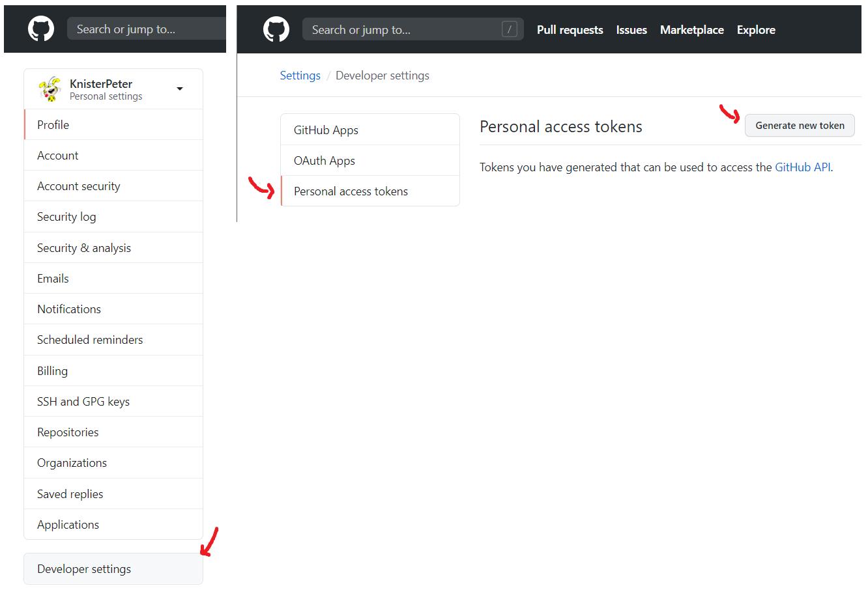 GitHub Personal Access Token