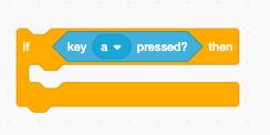"""Ett """"om""""-block med tangentbordsvillkor i"""