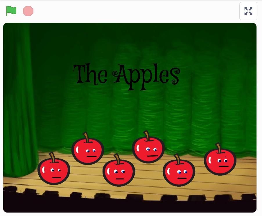 Exempelprojekt Fantasisynth med äpplen
