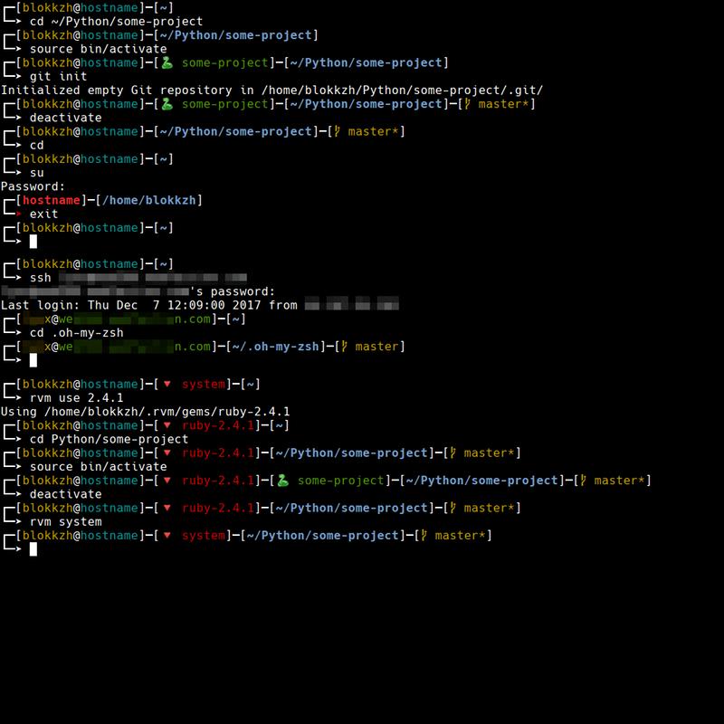 Screenshot of blokkzh