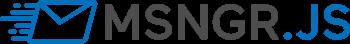 msngr.js logo
