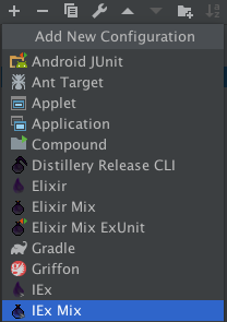 """The Mix Icon with """">"""" to indicate the IEX prompt"""
