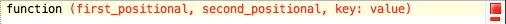 Ambiguous parentheses error