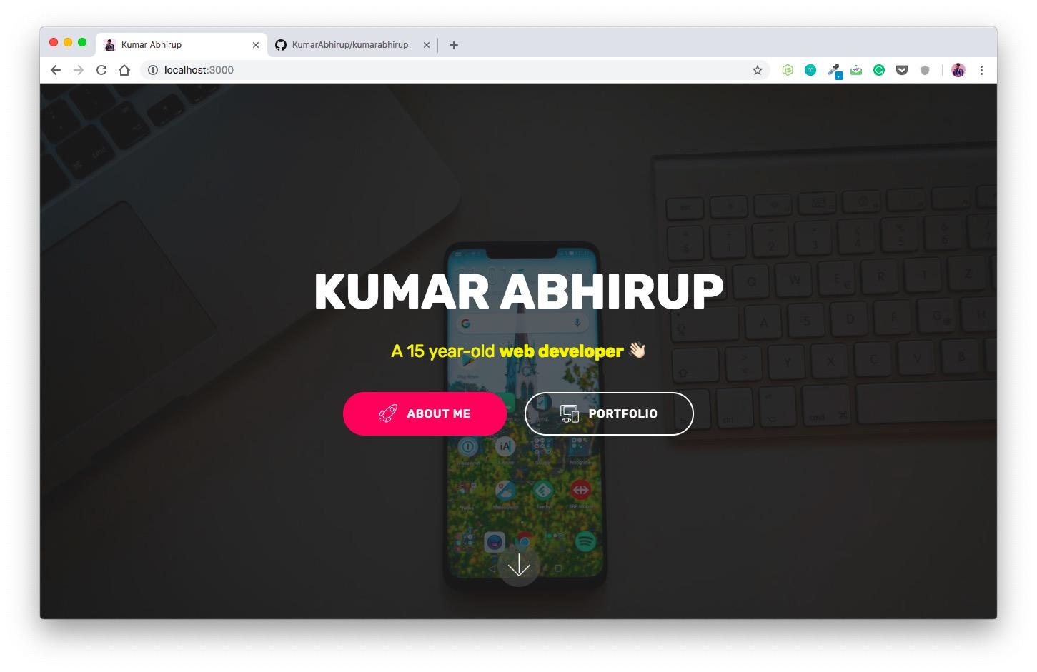 kumarabhirup.com
