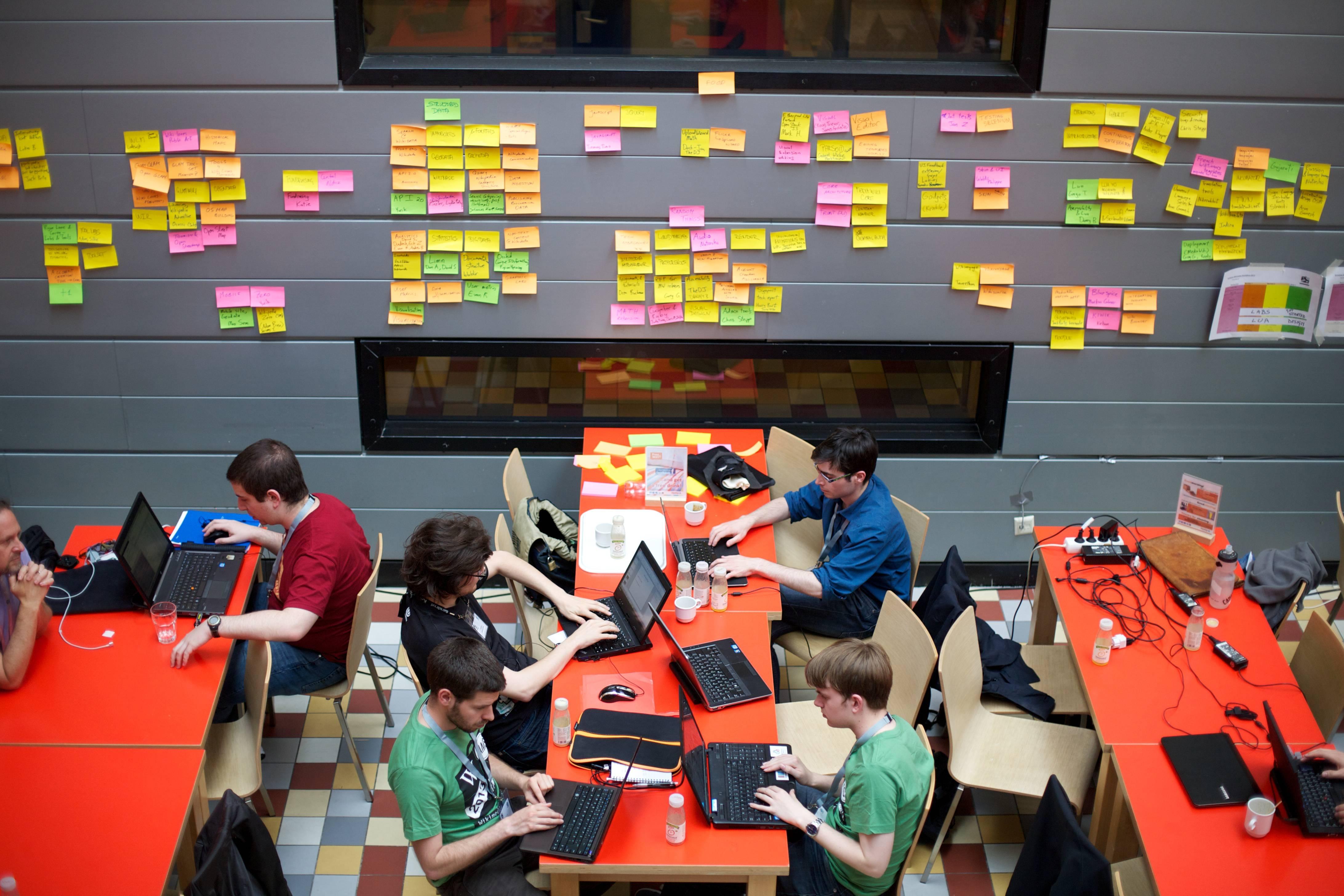 startup 與 hackathon