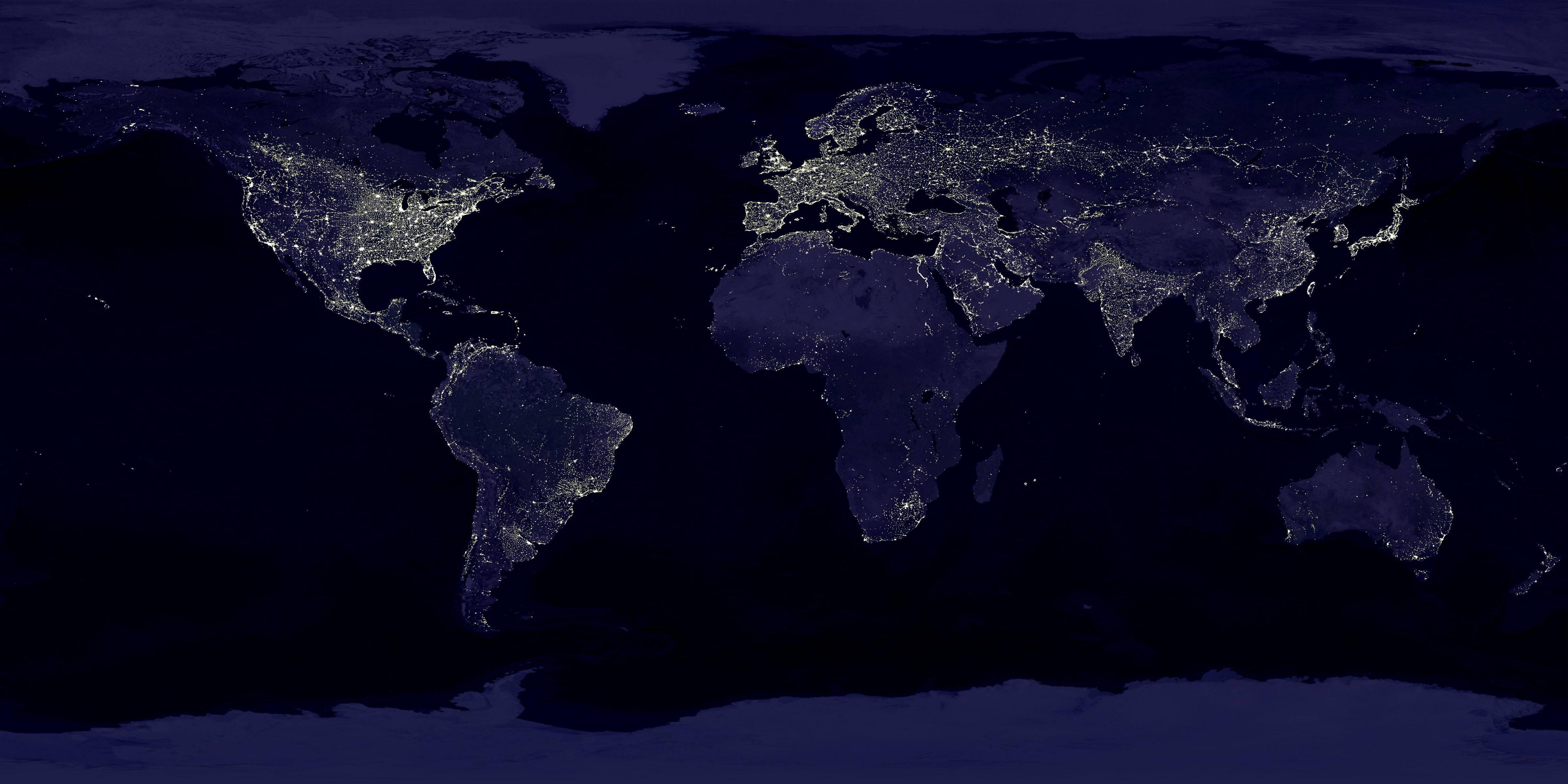 世界很大也很小