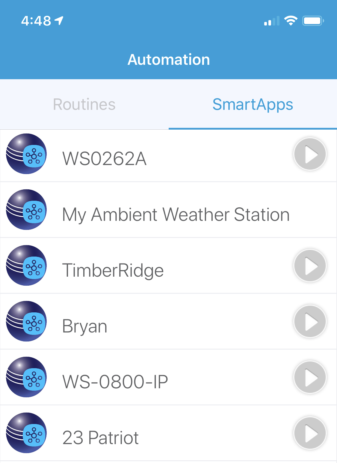 RELEASE] Ambient Weather Station: Integration of a Network Connected