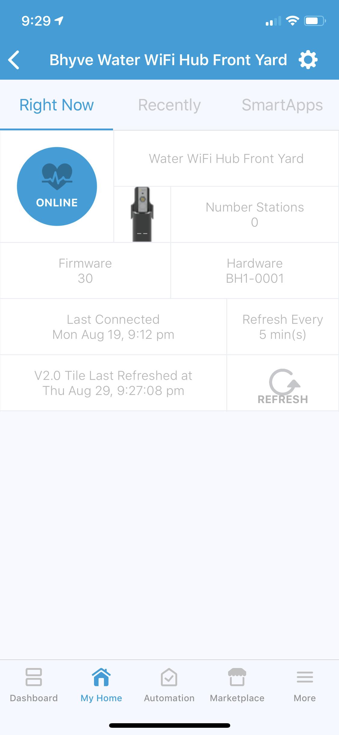 API – Page 2 – b•hyve WiFi Timer