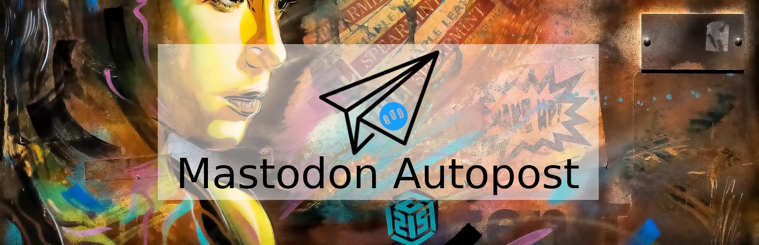 Mastodon Autpost Wordpress Plugin banner