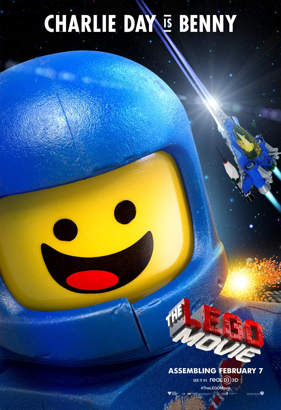 The LEGO Movie - Page 2 Benny%20Poster