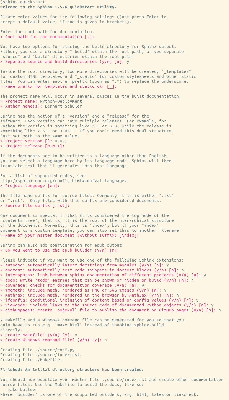 https://raw.githubusercontent.com/LSchueler/Python-Deployment/master/docs/source/pics/sphinx-quickstart.png