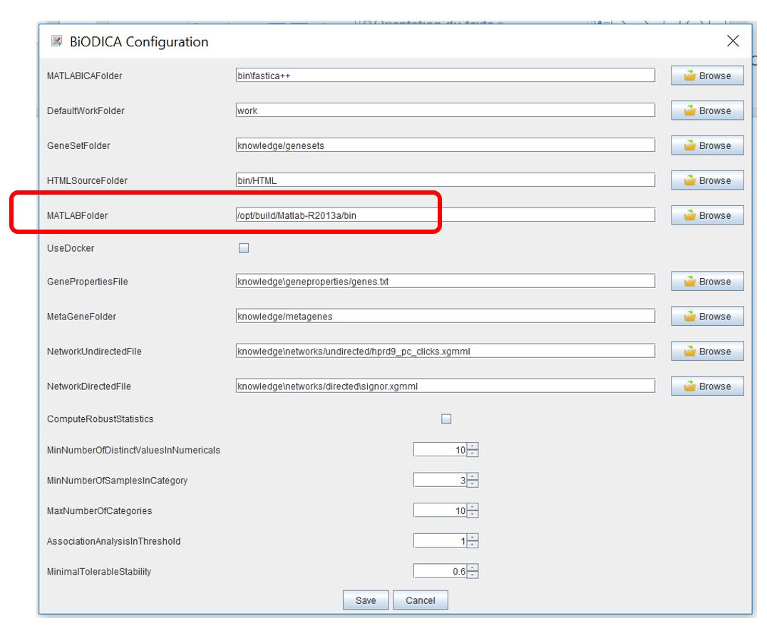 0  Installing and configuring BIODICA · LabBandSB/BIODICA