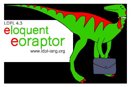 LDPL 4.3 'Eloquent Eoraptor'