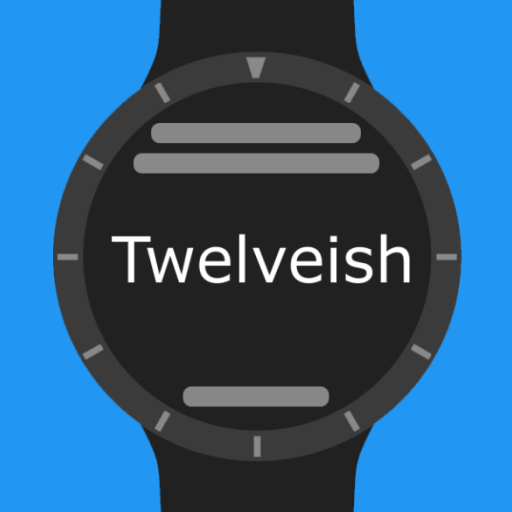 Twelveish Watch Face for Wear OS (Android Wear) - Logo