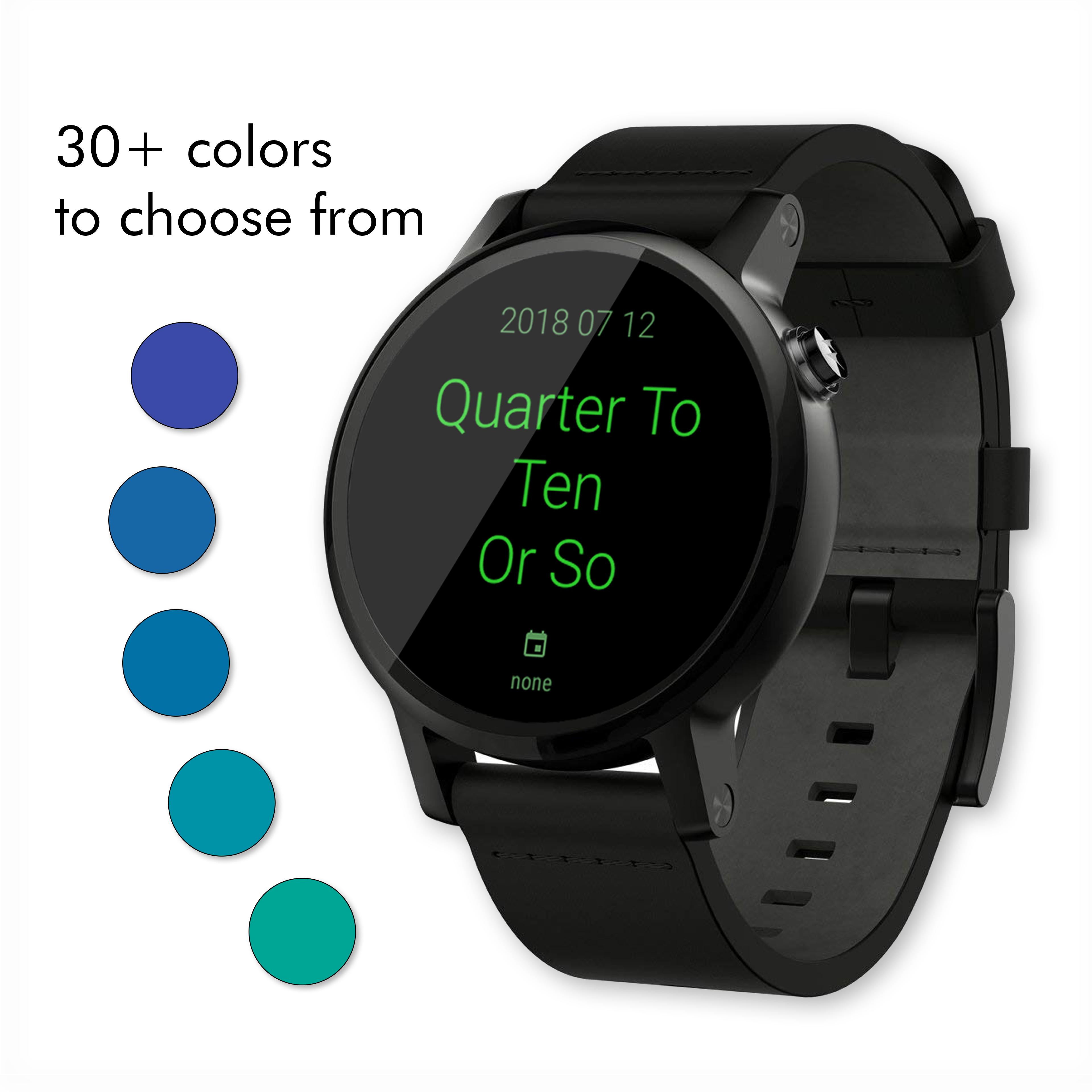 Twelveish Watch Face for Wear OS (Android Wear) - Screenshot2