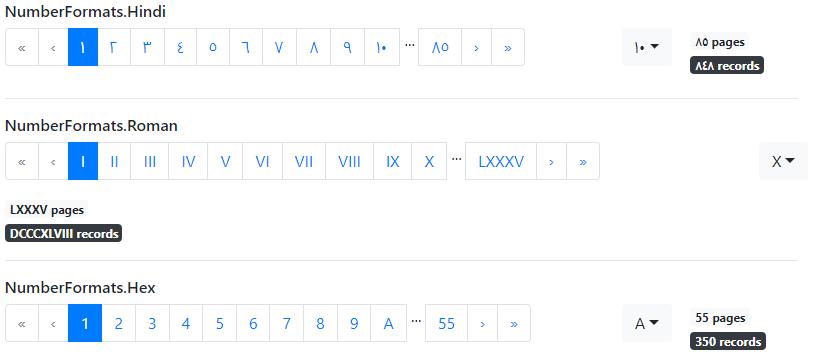 PagingTagHelper - number formats