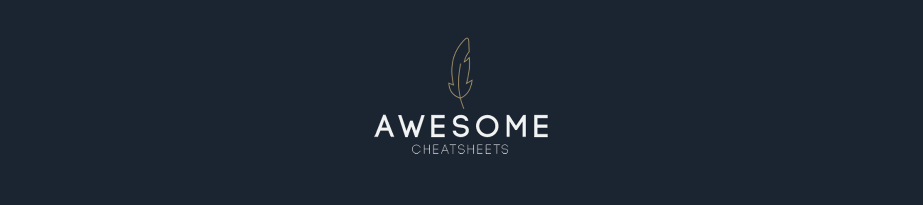AWESOME CHEATSHEETS LOGO