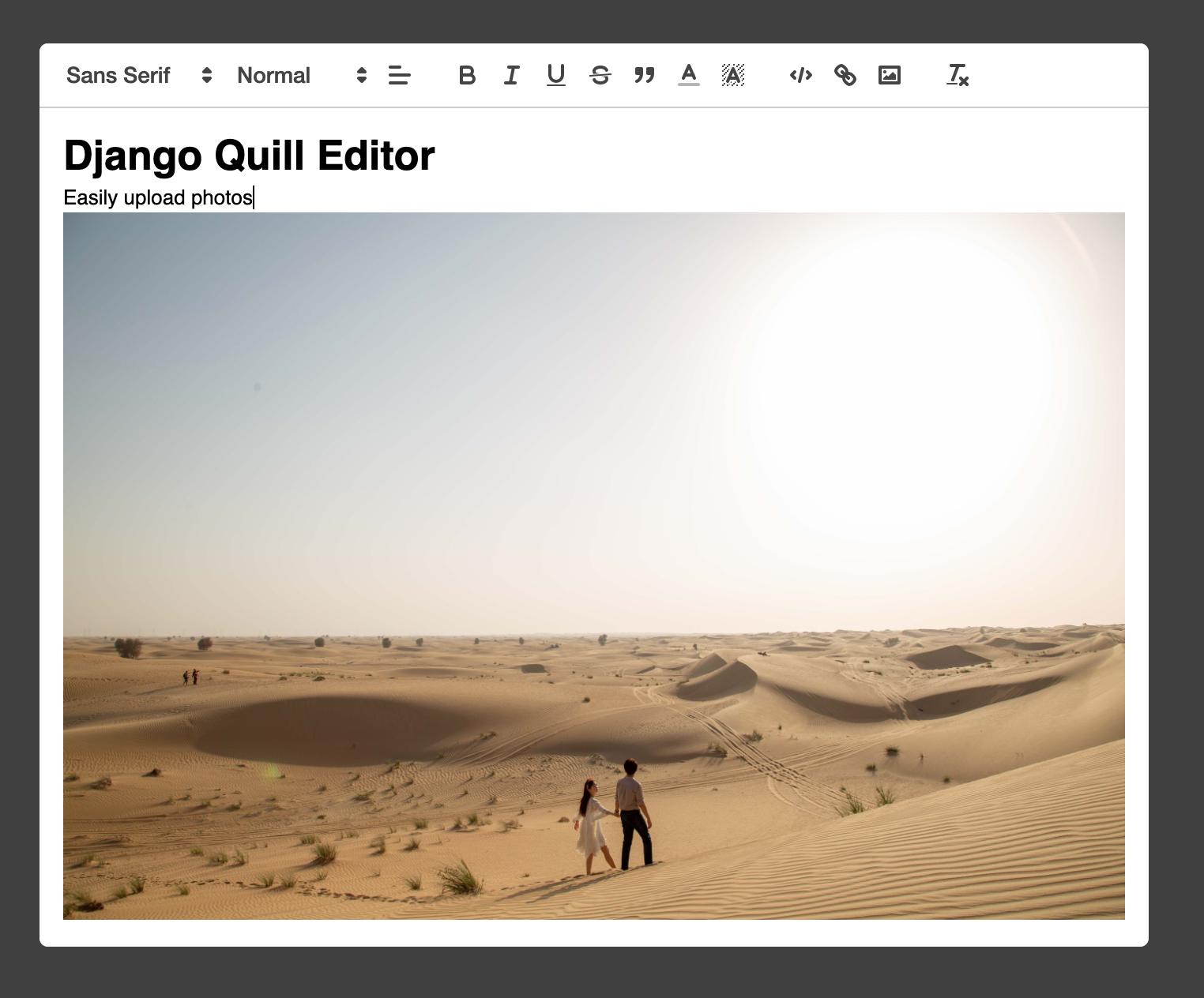django-quill-editor