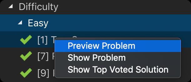 Pick a Problem