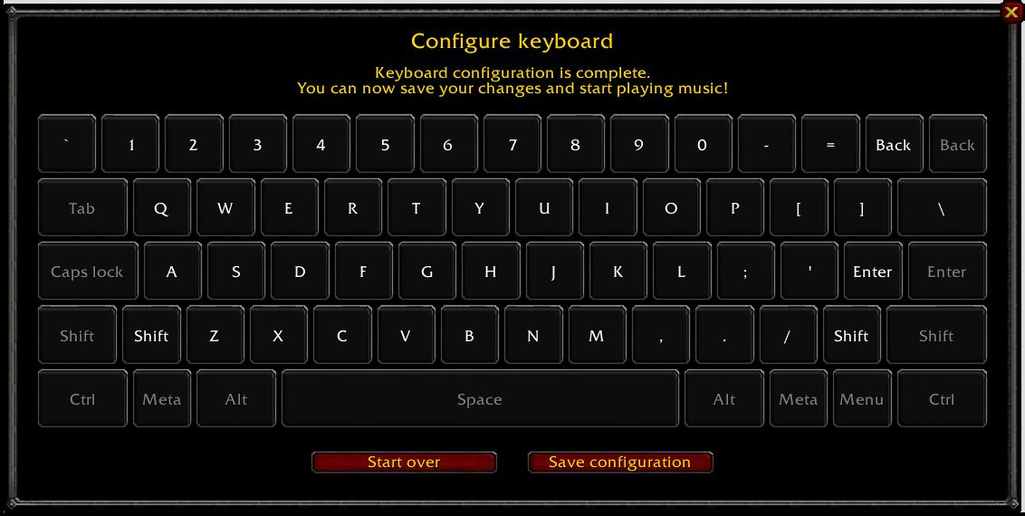 US Keyboard layout