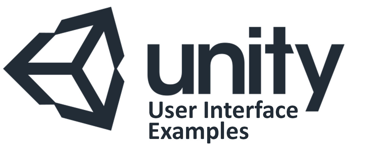 Unity3D Logo with additional text