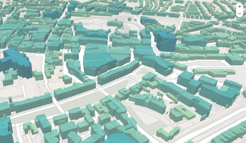 Image of Exeter 3D buildings