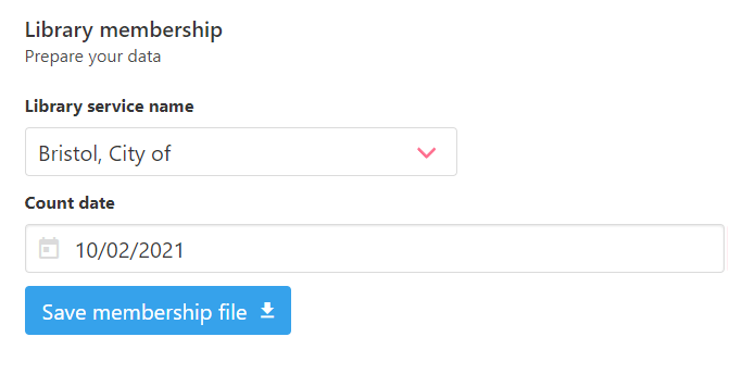 Screenshot of the option to save the file to your local PC