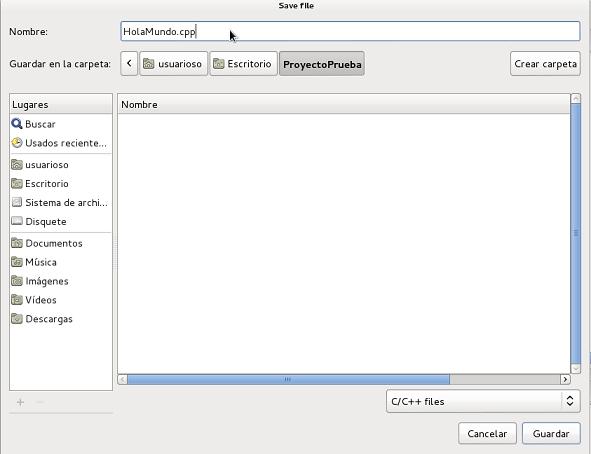 Añadir fichero nuevo 2