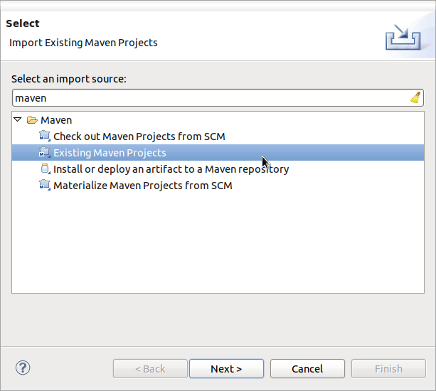 Import LibrePlan as Maven project
