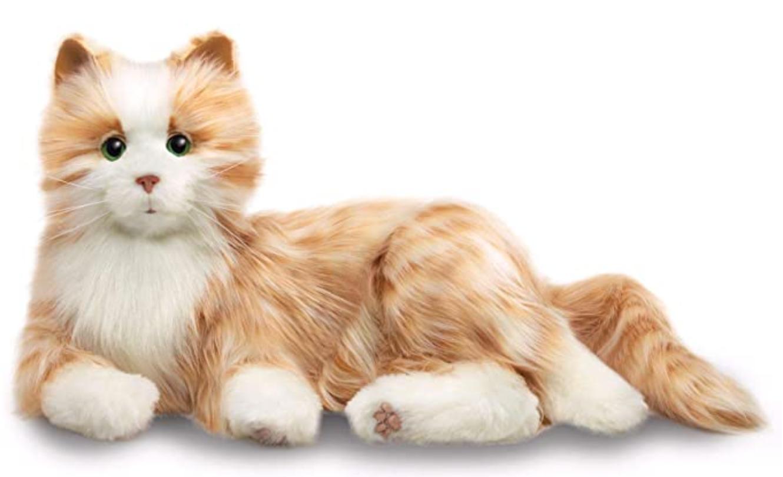 image of the joy for All's Orange Tabby Cat
