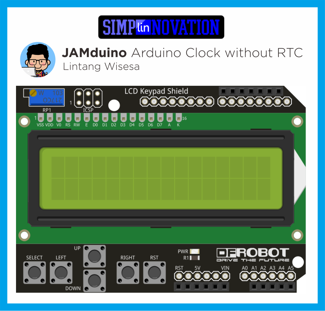 Github Lintangwisesa Arduino Clock Without Rtc A Simple Real Time Shield Schematic Jamduino Schematics