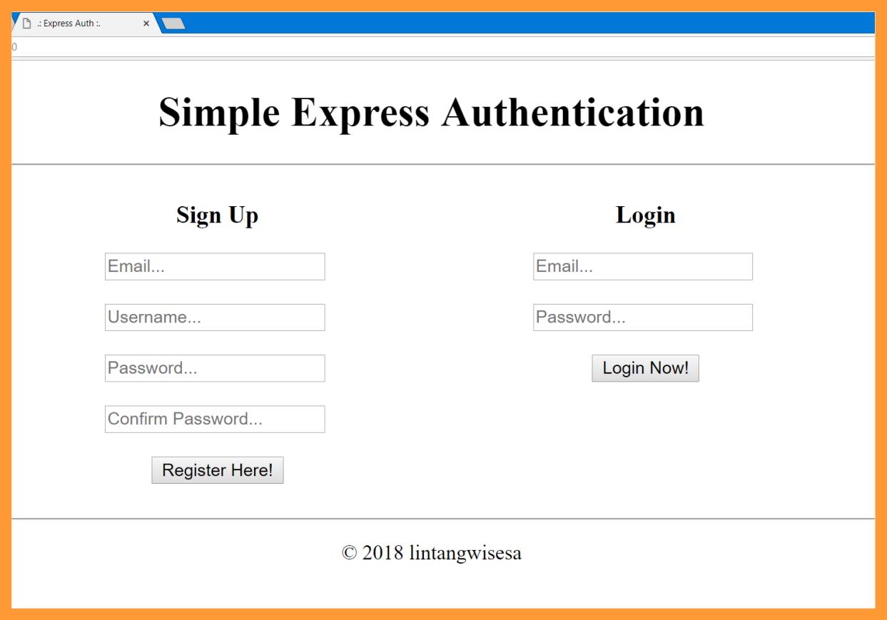 GitHub - LintangWisesa/Express-MongoDB-Authentication: A simple