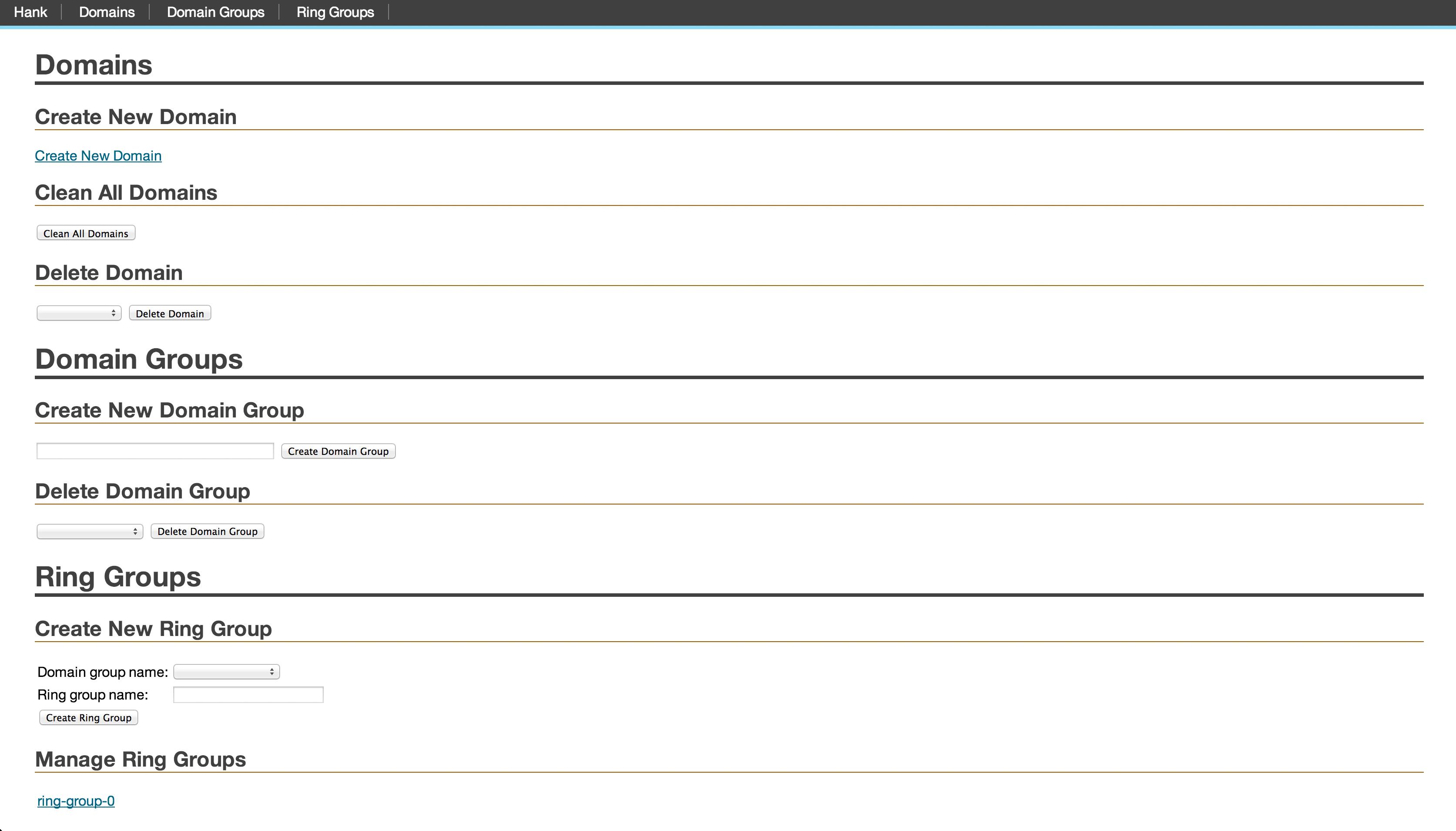 admin screenshot