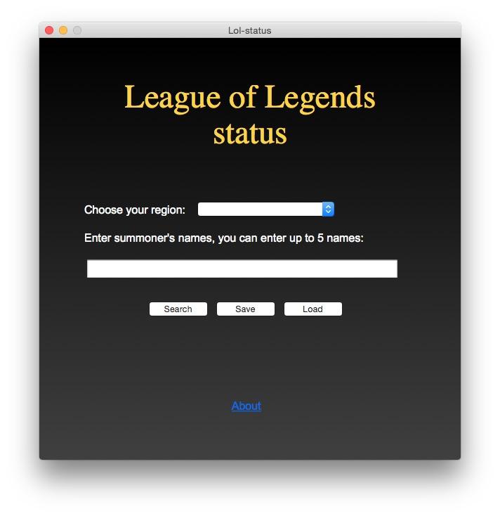 status league of legends