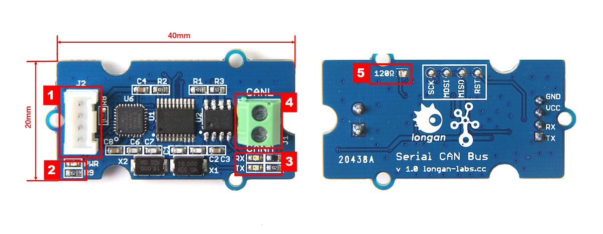 Serial CAN Bus Module - Longan Docs