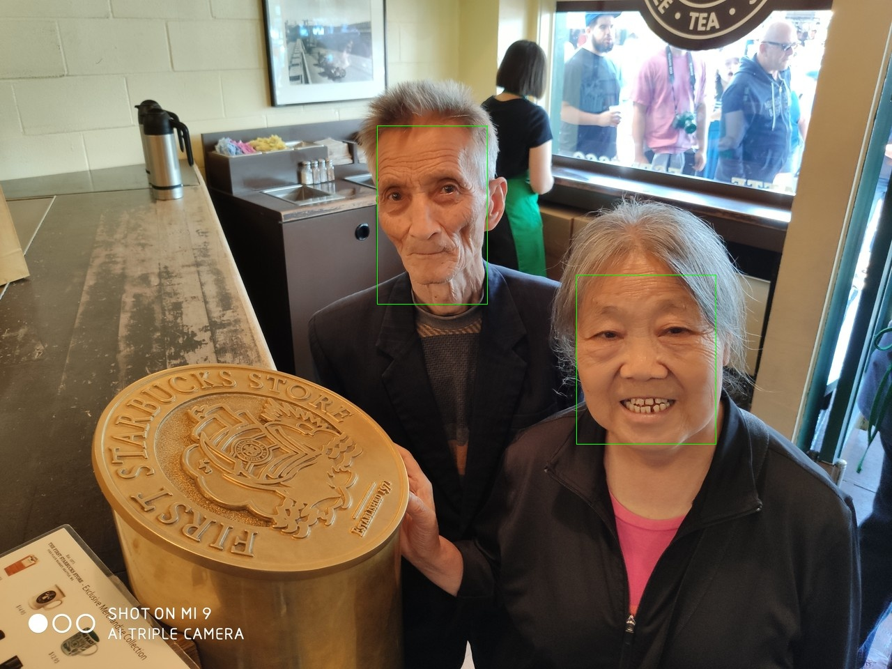 Parents At First Starbucks - Face Detection By NCS 1