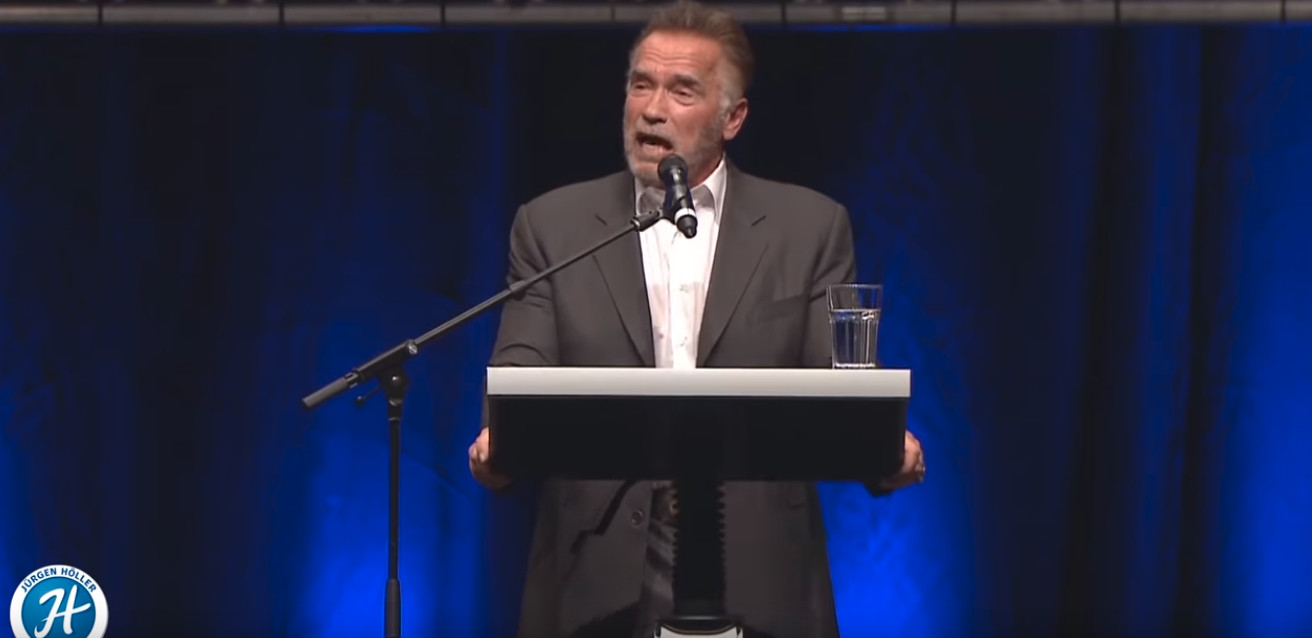 Schwarzenegger's Speech